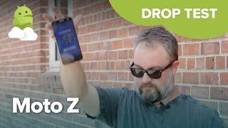 Moto Z Force Droid Edition Drop Test