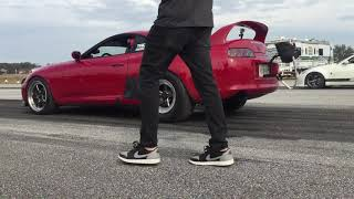 Bad Ass Supra In 1/2 Mile Drag Race (super Loud)