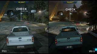 Need for Speed: Most Wanted Wii U vs. PS3 Comparison Video