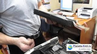 видео Источник дефекта изображения на цветном лазерном принтере.