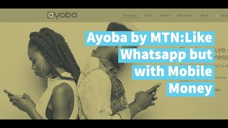 Ayoba: Chat App with Mobile Money built-in from MTN screenshot 2