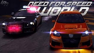 Oldschool Verfolgung!! -  NEED FOR SPEED WORLD Part 2 | Lets Play NFS World