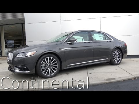 Thumbnail: 2017 Lincoln Continental Review in 4K | AutoVlog