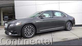 2017 Lincoln Continental Review in 4K | AutoVlog