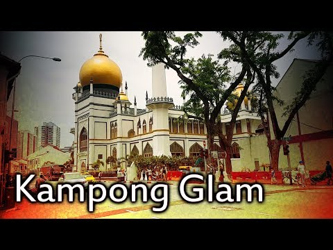 Surroundings of Kampong Glam District / Hotel Boss / Singapore HD