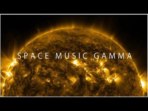 Space Music Gamma | 1 Track | Image of solar energy | スペース ミュージック ガンマ