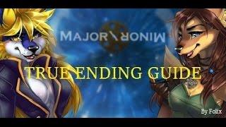 Major\Minor True Ending Achievement Walkthrough (With True Ending)