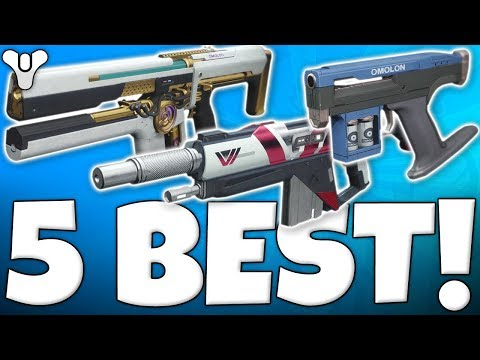 Destiny 2 - TOP 5 BEST PvP WEAPONS YOU MUST GET !!