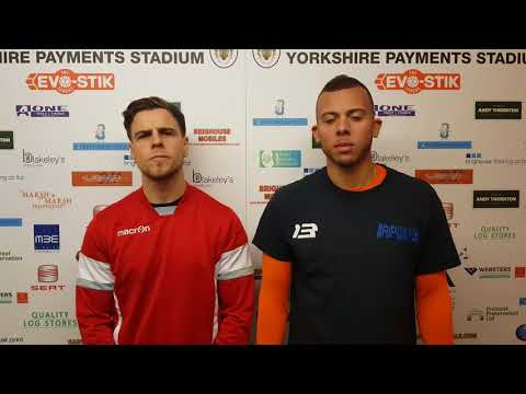 16/12/17 - Adam Field and Aaron Martin Pre South Shields