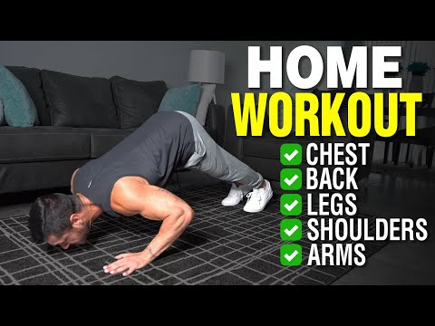 The Best Full Body Home Workout for Mass (Full Routine)