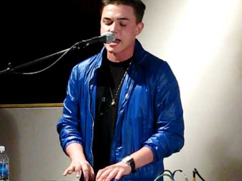 "Jesse McCartney- ""Mrs.Mistake"" @Music Shed in New Orleans"