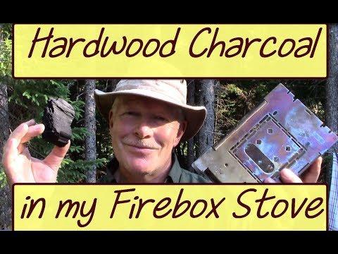 Firebox Stove & Hardwood Charcoal