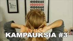 KAMPAUKSIA #3 | pikakampauksia puolipitkille hiuksille