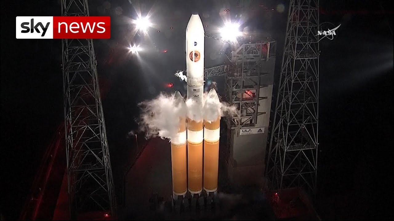 Nasa S Touch The Sun Mission Launches Youtube