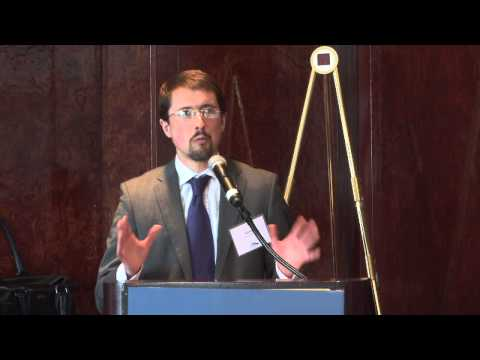 Neil Ross, NAS Sustainability Report Launch