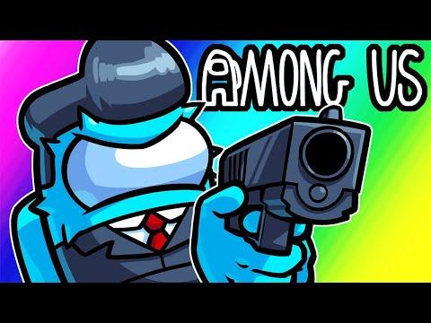 Among Us Funny Moments - Targeting Crew Mates as Imposter! (Bounty & Gun Mod) - VanossGaming