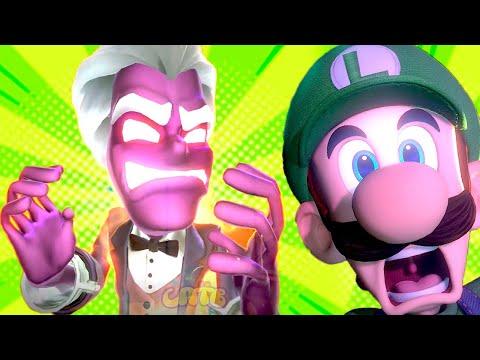 СУПЕР МАРИО ЛУИДЖИ МЕНШН #9 мультик игра для детей Детский летсплей на СПТВ Luigi Mansion 3 Boss