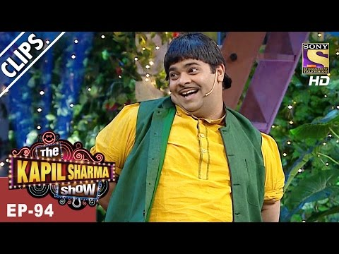 Doodhwala gives his best shot to woo Raveena - The Kapil Sharma Show - 1st Apr, 2017