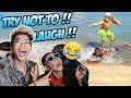 FROST DIAMOND DAN BOCIL TAHAN TAWA 16 MENIT, VIDEO PALING LUCU DINEGARA TETANGGA!!!