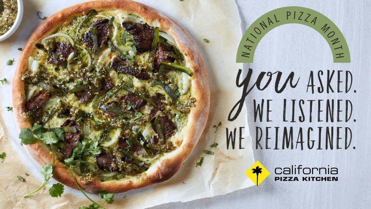 National Pizza Month 2016 | California Pizza Kitchen - YouTube
