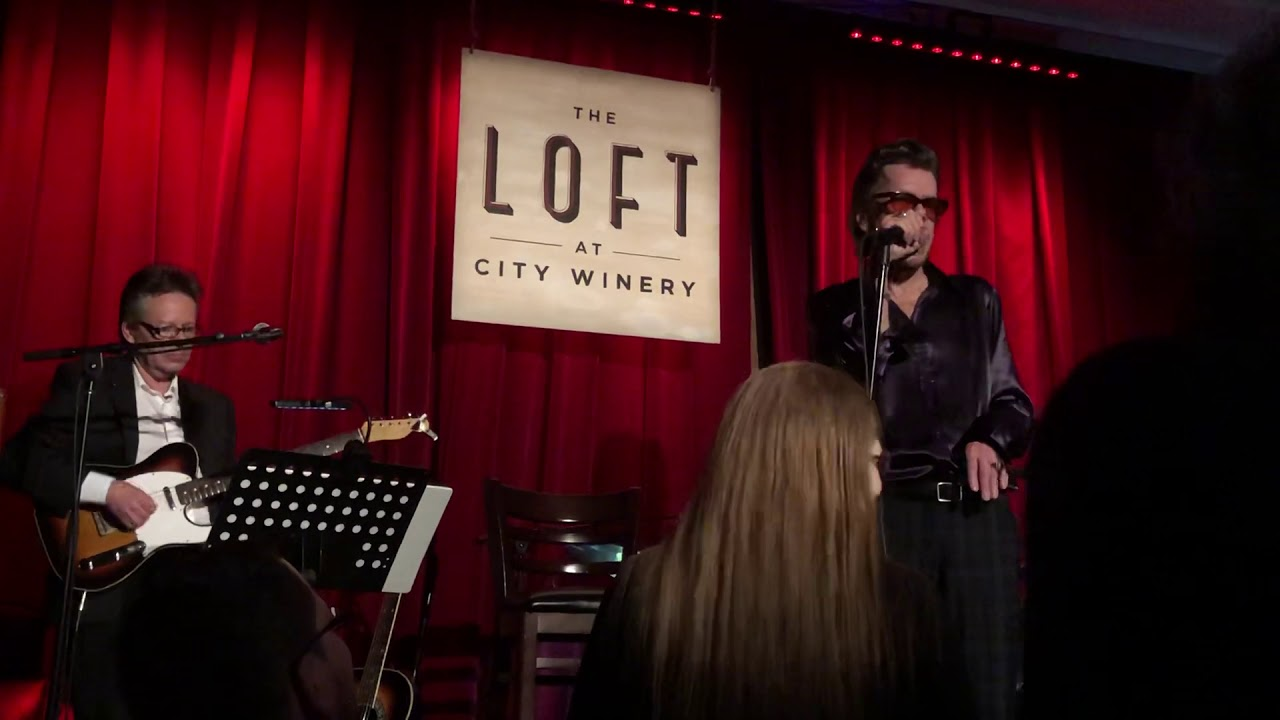 """Download Live on the Road - David Johansen - """"Personality Crisis"""" City Winery Loft NYC (March 15, 2019)"""