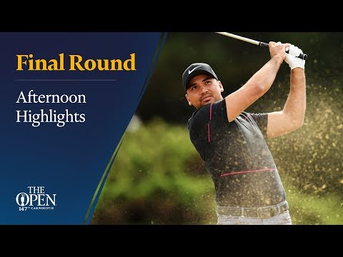The 147th Open - Final Round afternoon highlights