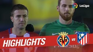 Resumen de Villarreal CF vs Atlético de Madrid (3-0)