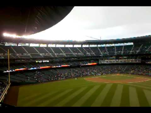 Retractable Roof At Safeco Field Seattle Wa Youtube