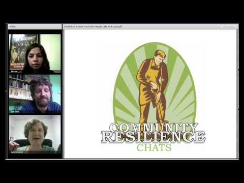 Community Resilience Chat # 2: Power from the People