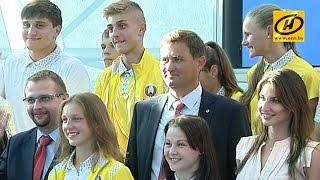 Сборная Беларуси отправилась на Европейский юношеский Олимпийский фестиваль
