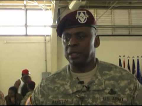 Lt. Gen. Austin talks about the mission