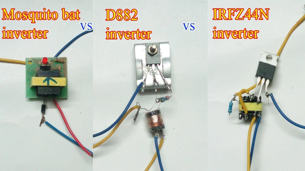 Which One Is Better Mini Inverter D882 Or Irfz44n
