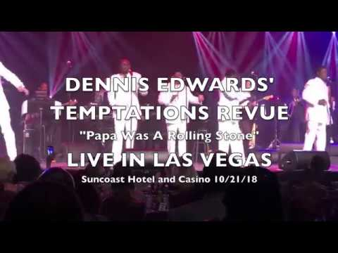 DENNIS EDWARDS' TEMPTATIONS REVUE Las Vegas 2018 Papa Was A Rolling Stone Mp3