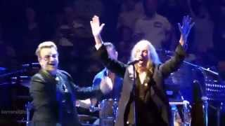 U2 Bad / People Have The Power (with Patti Smith), London 2015-10-29