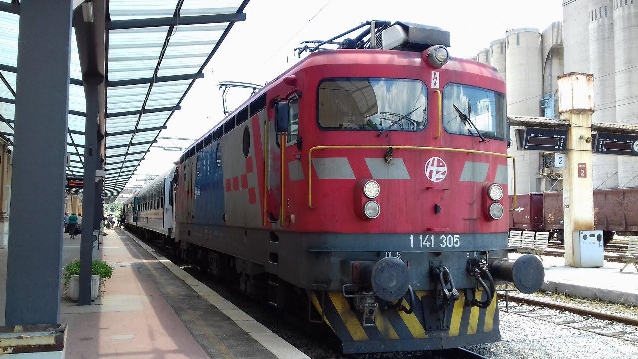 Traveling To Rijeka With Train No 2 Putovanje U Rijeku Vlakom 2 Dio Youtube