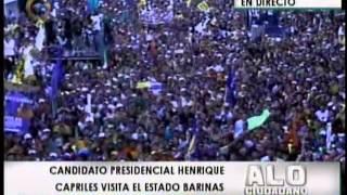 Capriles Radonski en el estado Barinas