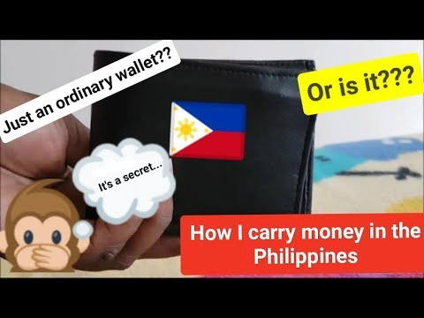 My SECRET for carrying Money in the Philippines + INSANE Peso Update... (PH Vlog 003)