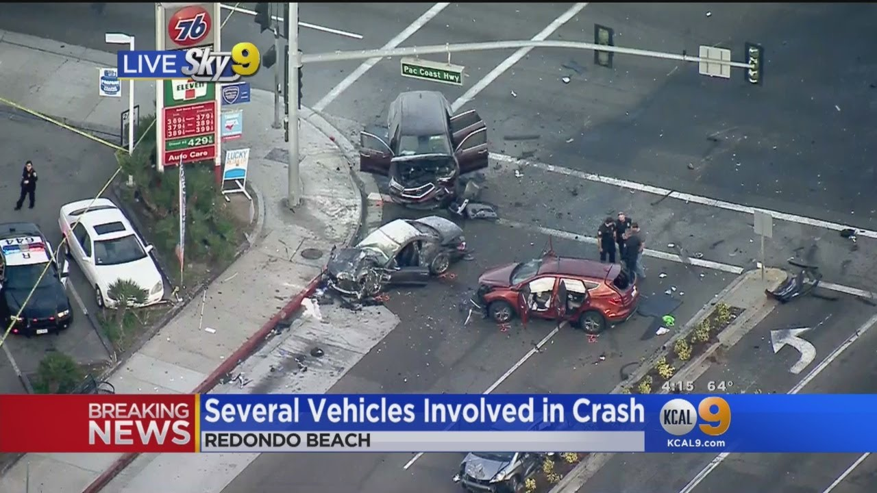 Several Vehicles Involved In Crash In Redondo Beach