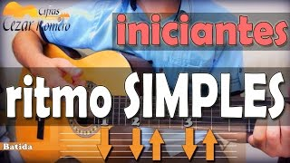 Baixar Aula de Violão BATIDA Simples para Iniciantes (lista de musicas na descrição)