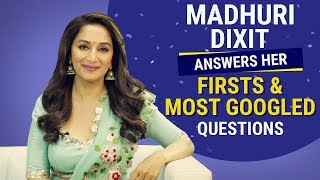 madhuri dixit answers her firsts and most googled questions pinkvilla bollywood fashion