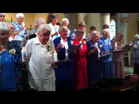 Sisters of Saint Joseph Celebrating 60 years of Religious Profession.MOV