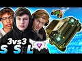 AMustyCow and Forky get hard carried by me? | SUPERSONIC LEGEND 3V3