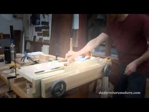 Block Front Chest Building Process by Doucette and Wolfe Furniture Makers