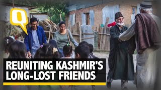 In Conflict-Torn Kashmir, A Mission to Reunite Long-Lost Friends