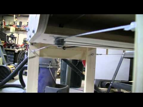 Moving Knot Cable/Pulley System to Eliminate Racking in a DIY CNC Gantry