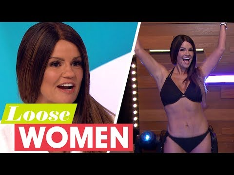 Kerry Katona Reveals Her Brand New Body After Losing Two Stone | Loose Women
