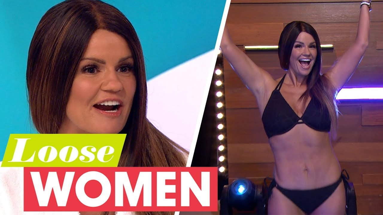 Kerry Katona Reveals Her Brand New Body After Losing Two Stone Loose Women