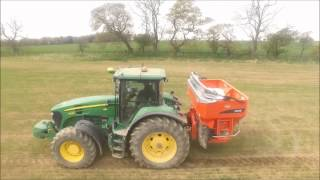 John Deere and Kuhn Axis 50.1