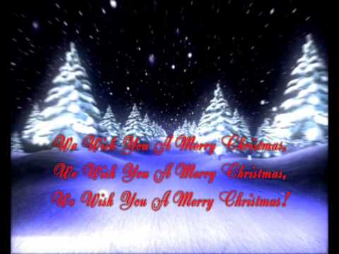 We wish you a Merry Christmas Song Video! - lyrics - YouTube