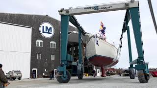 Lyman-Morse Launches Anna 65' Sailing Yacht